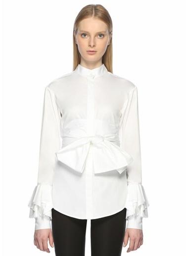 Maggie Marlyn Gömlek Beyaz